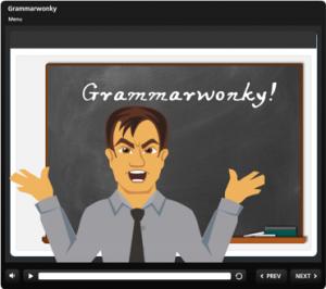 Grammarwonky Title Slide