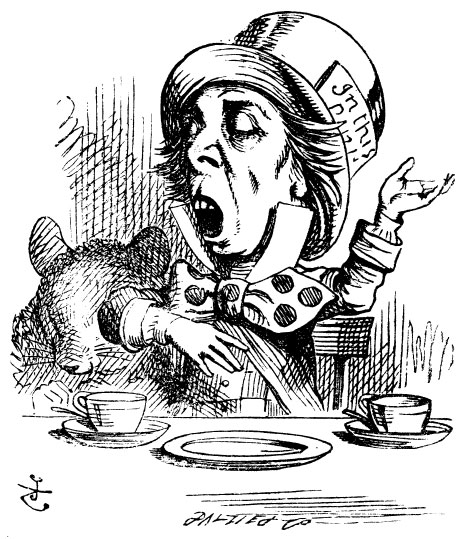 Tenniel Hatter Singing