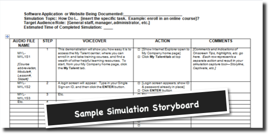 Storyboarding 101 creating your elearning blueprint sellon solutions storyboard logo for blog malvernweather Choice Image