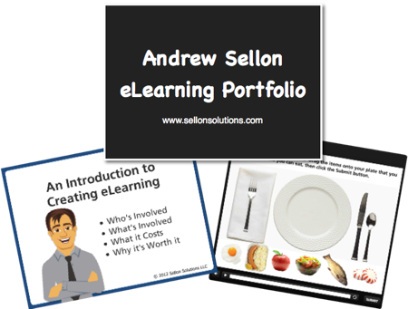 Check Out My eLearning Portfolio Right Here On My Web Site!